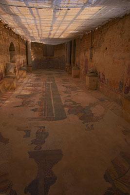 Bodenmosaiken, Villa Casale del Romano, Region Enna, Sizilien