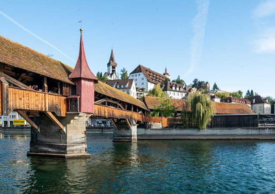 Spreuerbrücke, Luzern, CH