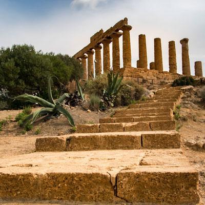 Im Tal der Tempel von Agrigent, Sizilien