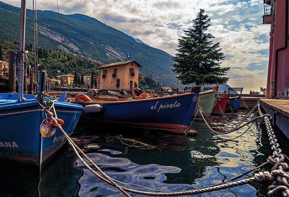 Torbole, nördlicher Gardasee, Italien