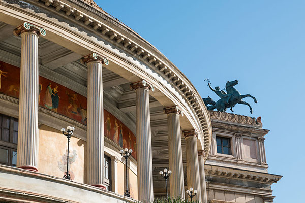 Detail am Opernhaus - Teatro Massimo, Palermo, Sizilien