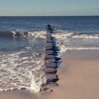 Buhnen am Strand, Sylt