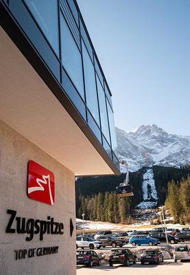 Mit der Panorama-Seilbahn zur Zugspitze