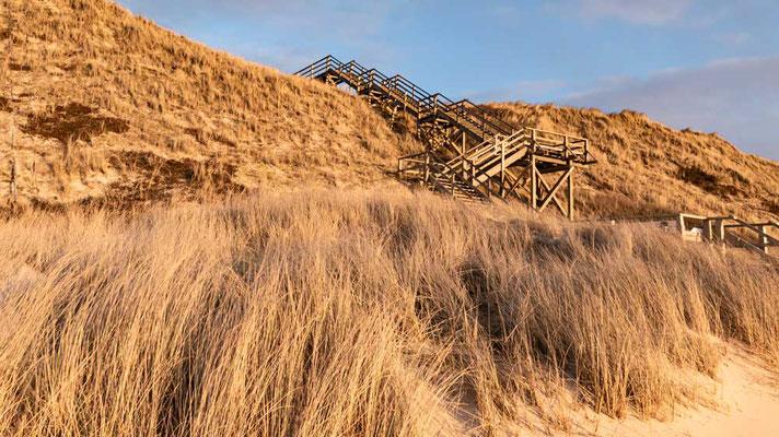 Trepp auf und ab, Dünenübergang bei Westerland, Sylt