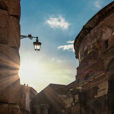 Am Pantheon angekommen