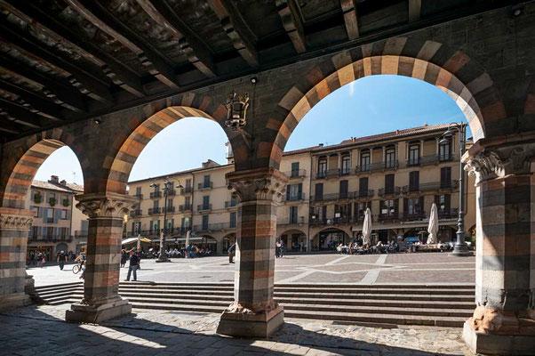 Como, die Hauptstadt des Comer Sees, Lombardei, Italien