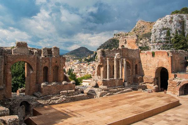 Taormina, Standardziel für sämtlichen Sizilienreisenden, entsprechend überfüllt ist es leider auch