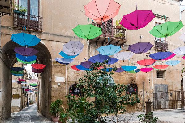 In den Straßen von Sciacca, Sizilien