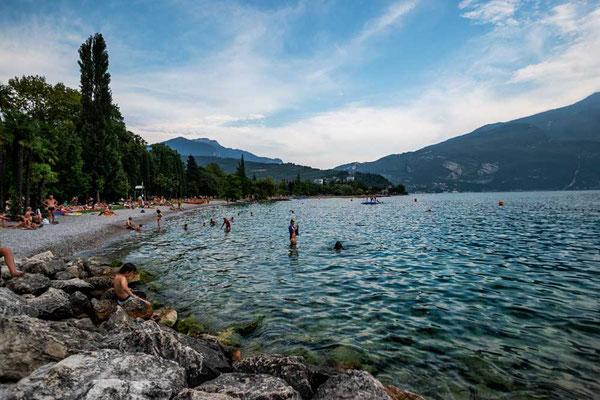 Riva del Garda, nördlicher Gardasee, Italien