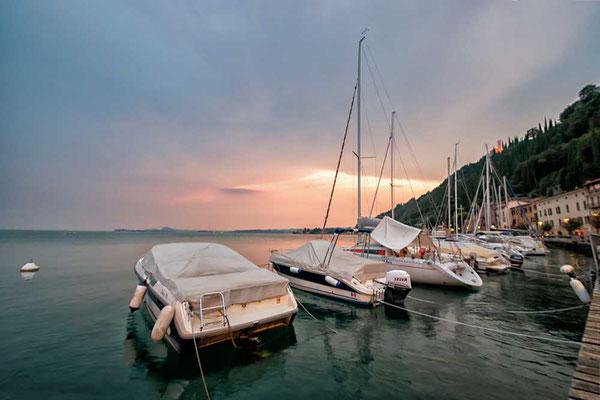 Malcesine, Ostufer des Gardasees, Italien