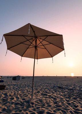 Abenddämmerung am Strand von Zandvoort, NL