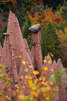 Die Rittner Erdpyramiden sind die höchsten und formschönsten in Europa
