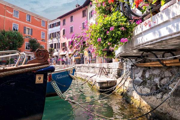 Limone sul Garda, Nordwest Küste des Gardasees, Italien