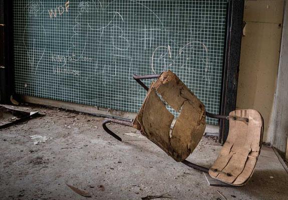 Vergessen - Britische Überreste - Kent School, Waldniel-Hostert