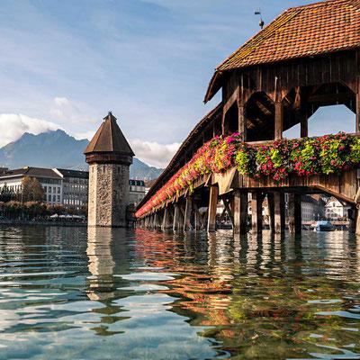 Kapellbrücke, Luzern, CH