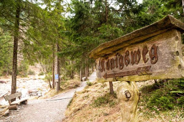 Der Königsweg - zu den Kuhfluchtwasserfällen, Farchant, Zugspitzregion