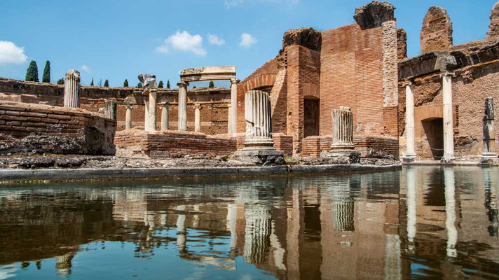Kaiser Hadrian hat keine Kosten und Mühen für den Bau der Villa Adrina gescheut - selbst die Überbleibsel sind noch immer beeindrucken