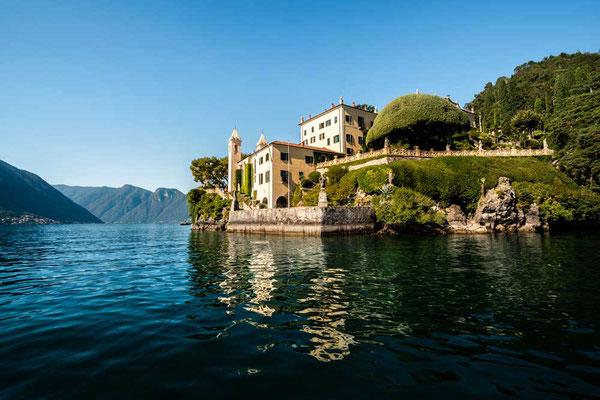 Villa Balbianello - Drehort bekannter Blockbuster wie James Bond und Starwars, am Westufer des Comer Sees gelegen, Comer See Region, Lombardei, ItalienVilla Balbianello - Drehort bekannter Blockbuster wie James Bond und Starwars, am Westufer des Comer See