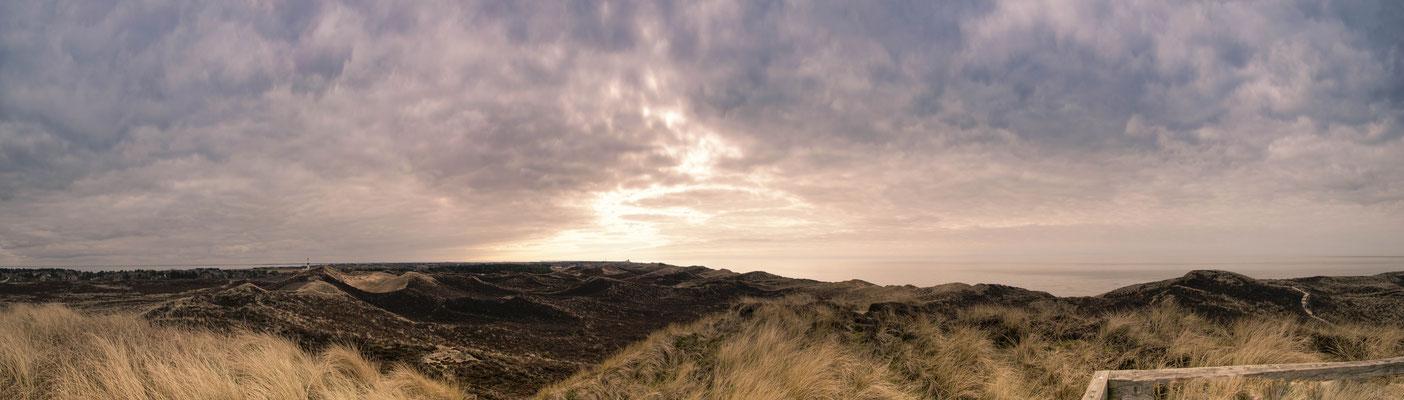 180° Panorama von der Uwe Düne ausgesehen