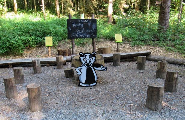 Das Klassenzimmer vom Zahlenwald im Gramschatzer Wald