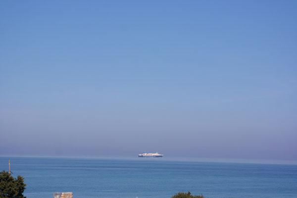 Die letzte Zakynthos - Killini-Fähre