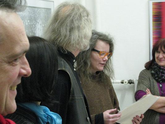 Ország László: Monitor scan kiállításmegnyitó