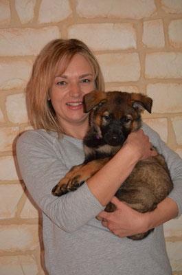 7 Wochen mit ihrer neuen Besitzerin