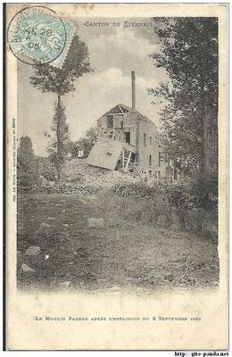 Le moulin Panneau