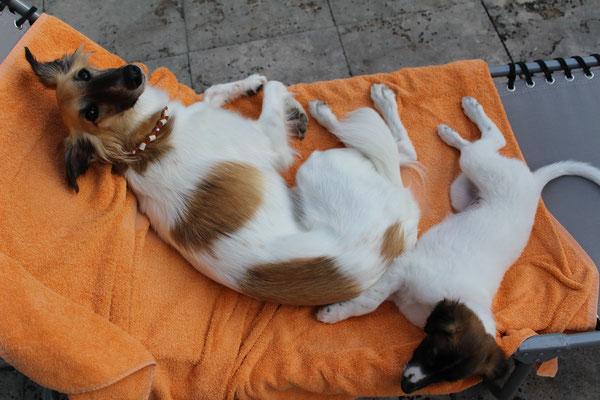 Brisa und Catara - die besten Freundinnen