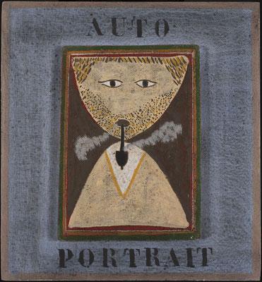 63 -Louttre.B autoportrait