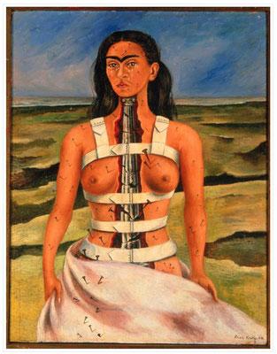 59 -Frida KAHLO La Colonne Brisée 1944