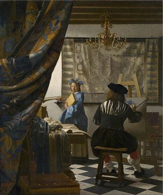 60 -Vermeer l'atelier