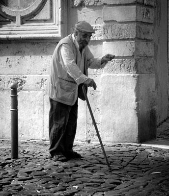 Vieux mendiant