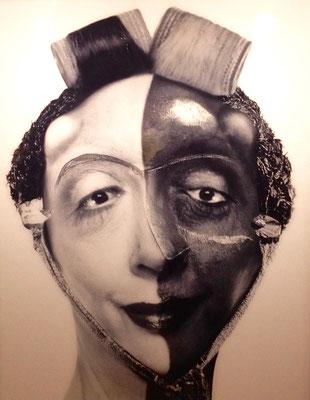 73 -Orlan  maquillage masque nègre