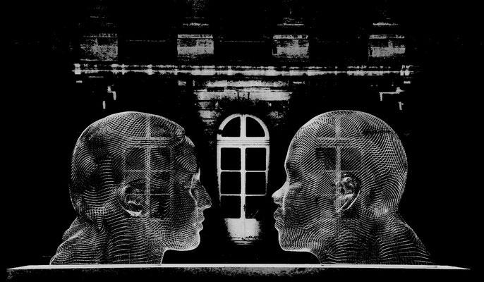 Le couple (oeuvre de Jaume Plensa)