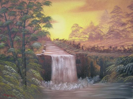 Wasserfall 60x80