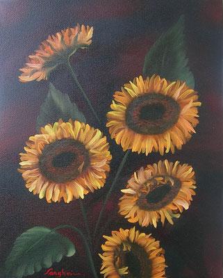 Sonnenblumen 40x50