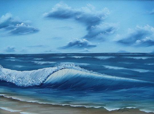Große Welle 45x60