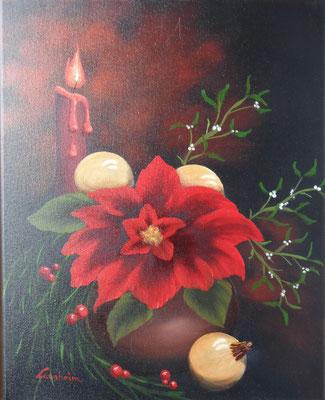 Weihnachtsstern 40x50