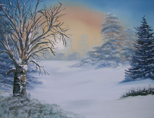 Winterlandschaft 45x60