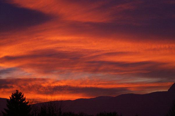 Coucher de soleil - paysage photo nature en Sologne ©Alexandre Roubalay - Acadiau d'images