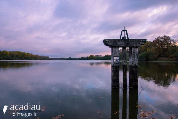 Bonde d'étang en Sologne - paysage photo nature ©Alexandre Roubalay - Acadiau d'images