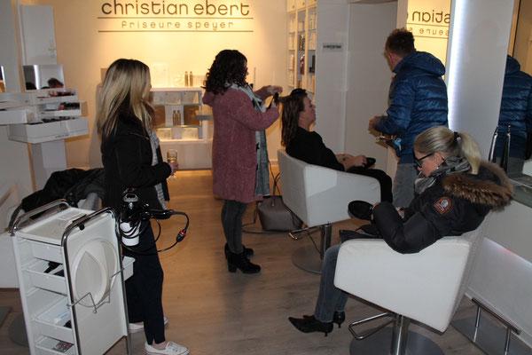 christian ebert friseure speyer // weihnachtsfeier 1