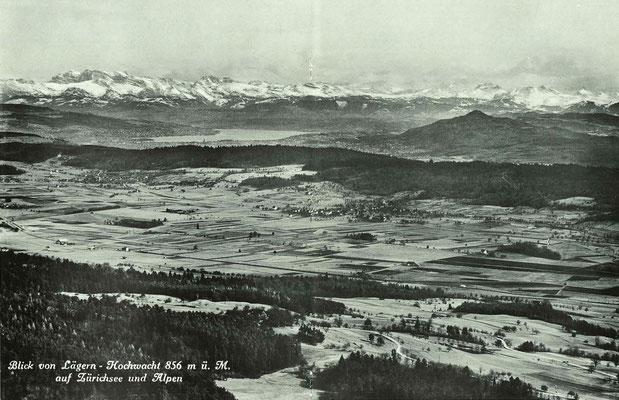 Das Furttal im Jahre 1932::Aufnahme Photoglob-Wehrli AG, Zürich::Regan Zunftblatt 1971::S.18/19