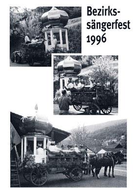 Fahrt mit Zwiebelturm und «Chinesenmarsch» nach Otelfingen (siehe Dschunke am Bezirkssängerfest Otelfingen 1938)