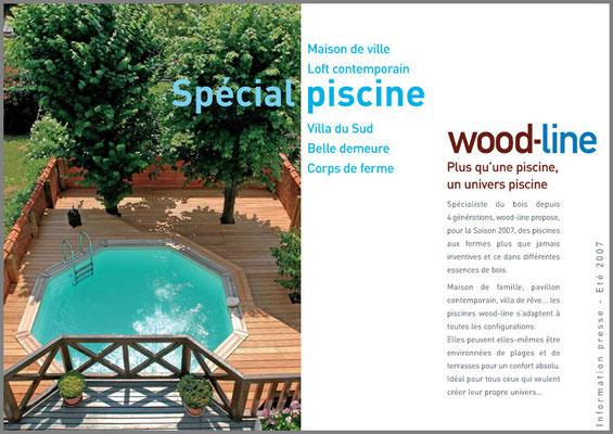 Piscines Wood-Line