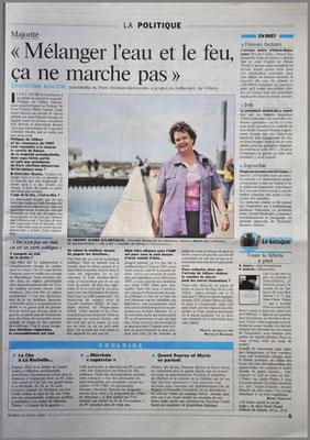 La Parisien - Aujourd'hui en France