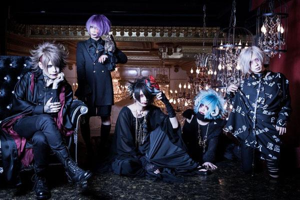 Oktober 2017, Kuro UNiTE; von links nach rechts: Yui, LiN, Haku, Shiina Mio, Sana