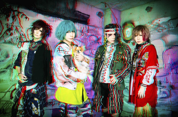 """Dezember 2018, Look zur 3. Single """"Last One Show""""; von links nach rechts: RIKITO, CHISA, HAL, SHOGO"""