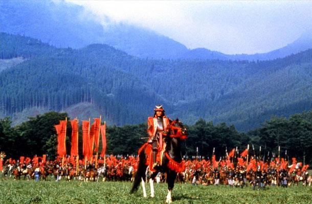 """Bild aus dem Film """"Ran"""" von Kurosawa Akira, 1985"""